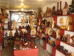 Woodcarving shop