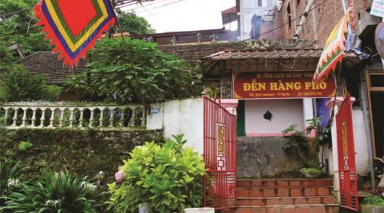 Image result for đền hàng phố